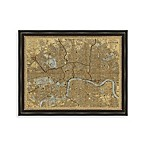 Map of London Framed Art
