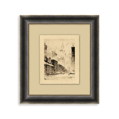 """Cities of America"" New York, New York Framed Art 1"