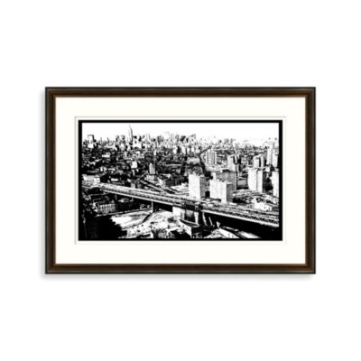 New York Skyline 1 Framed Art