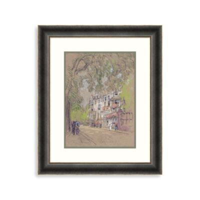 """""""London Street"""" Framed Art 1"""
