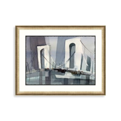 NY Bridge 1 Framed Art