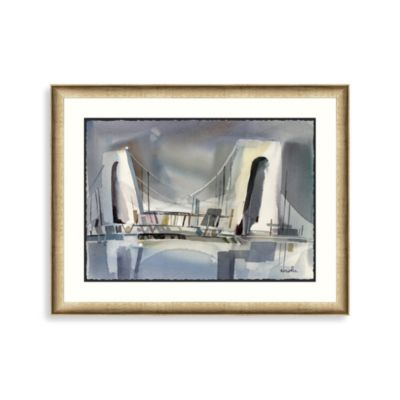 NY Bridge 2 Framed Art