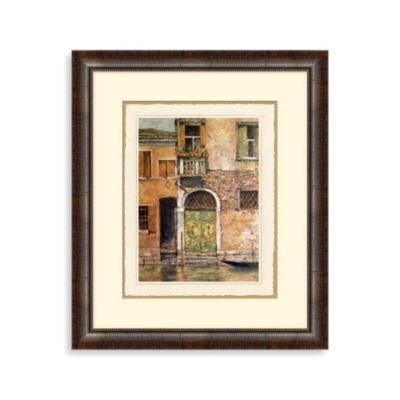 Venetian Door 1 Framed Art