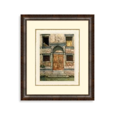 Venetian Door 2 Framed Art