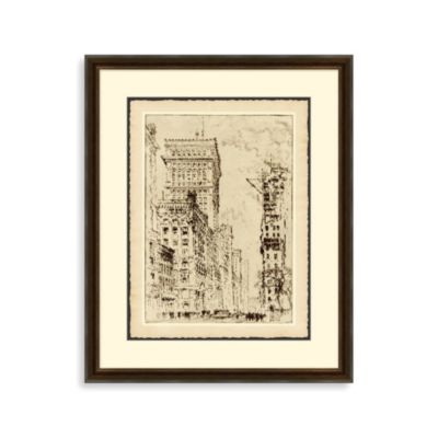 """Broadway"" Framed Art 2"