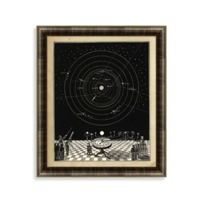 Solar System 1 Framed Art