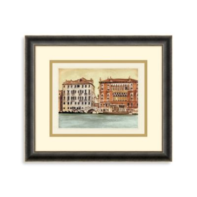Venetian Waterway 1 Framed Art