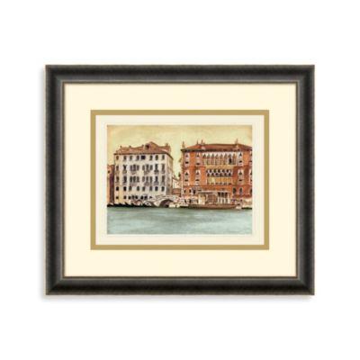 Venetian Waterway 1 Framed Art