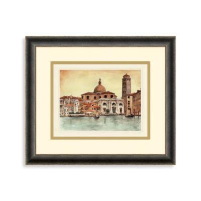 Venetian Waterway 2 Framed Art