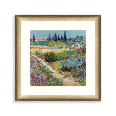 "Vincent van Gogh ""Impressions of My Garden"" 1 Framed Art"