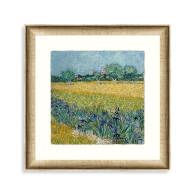 "Vincent van Gogh ""Impressions of My Garden 2"" Framed Art"