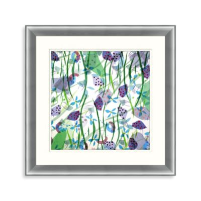 Framed Art Jubilee 2 35-Inch x 35-Inch Wall Art