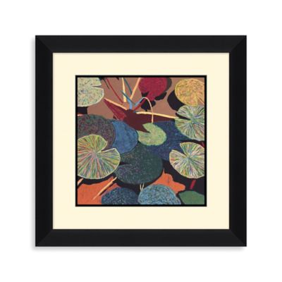 Water Lily I Framed Wall Art