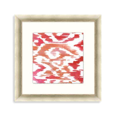 """Ikat Cora"" Framed Art 2"