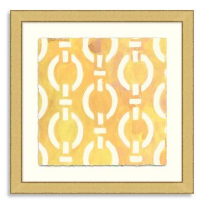 Ikat Collection Framed Art 5