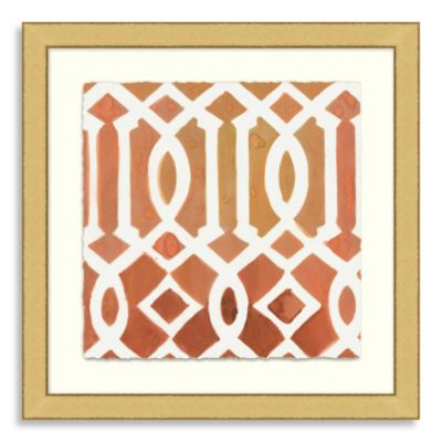 Ikat Collection Framed Art 6