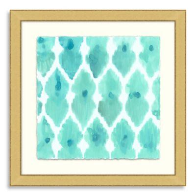 Ikat Collection Framed Art 7