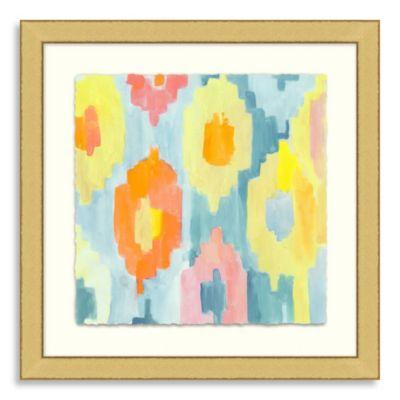 Ikat Collection Framed Art 8