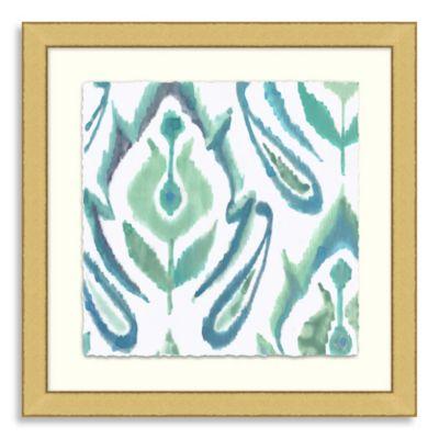 Ikat Collection Framed Art 9