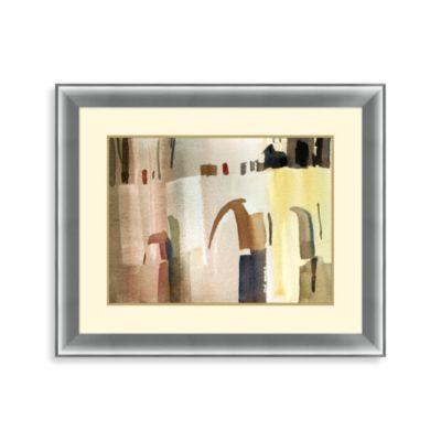 """City Abstraction"" Framed Art 1"