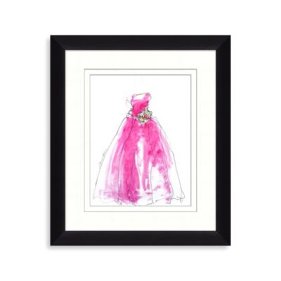 Pink Dress 1 Framed Art