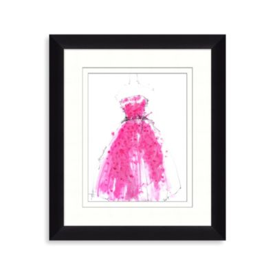 Pink Dress 2 Framed Art