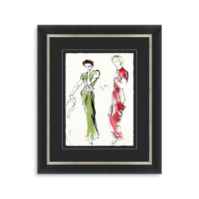Fashion Study Framed Art 1