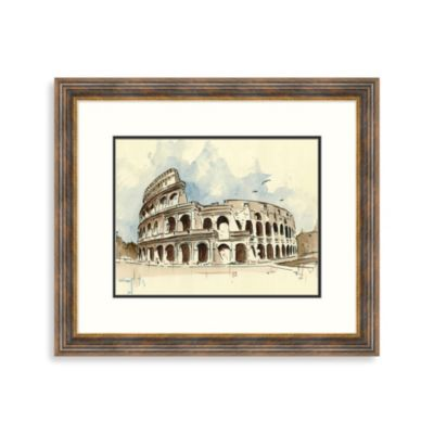 """Ancient Rome"" Framed Art 1"