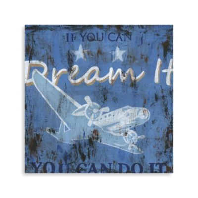 """If You Can Dream It"" Canvas Art"