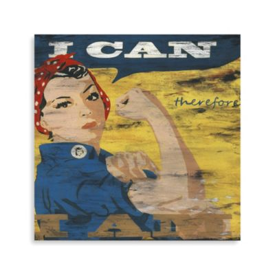 """I Can"" Canvas Art"