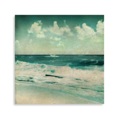 """Crashing Waves"" Canvas Photo Art 1"