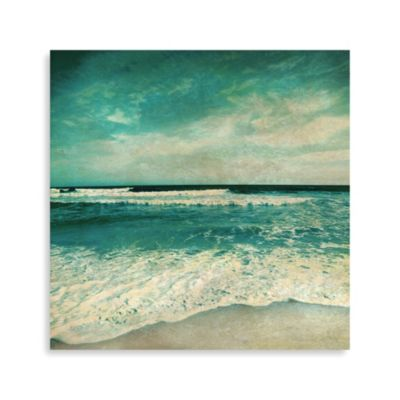 """Crashing Waves"" Canvas Photo Art 2"