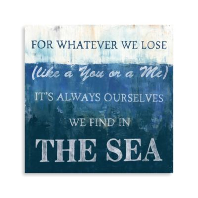 Art Quotes of the Sea 2 Wall Art