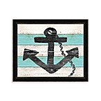 Drift Wood Anchor Framed Wall Art