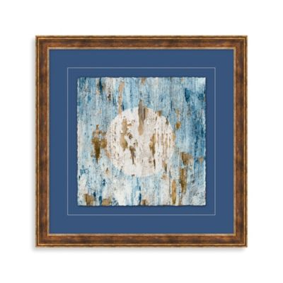 Distressed Nautical Sign 1 Framed Wall Art