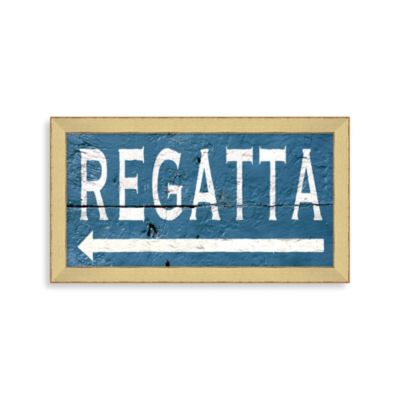 Regatta Framed Wall Art