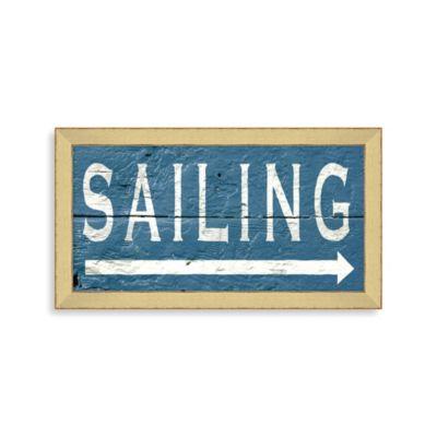 Sailing Framed Wall Art