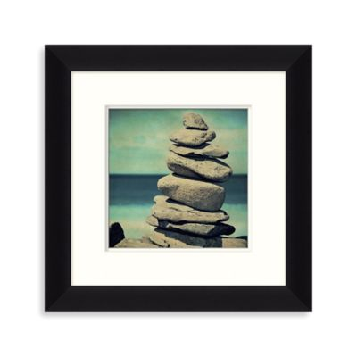 Ocean Stones 1 Framed Wall Art