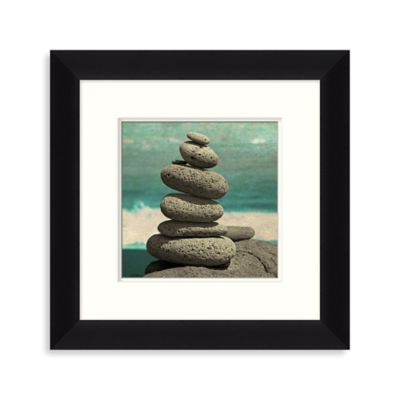 Ocean Stones 2 Framed Wall Art