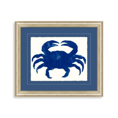Blue Crab I Framed Wall Art