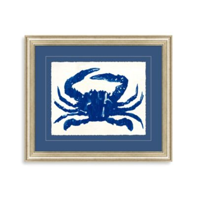 Blue Crab II Framed Wall Art