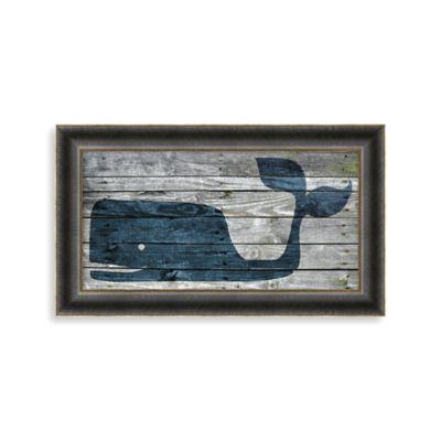 Driftwood Whale 1 Wall Art