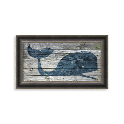 Driftwood Whale 2 Wall Art