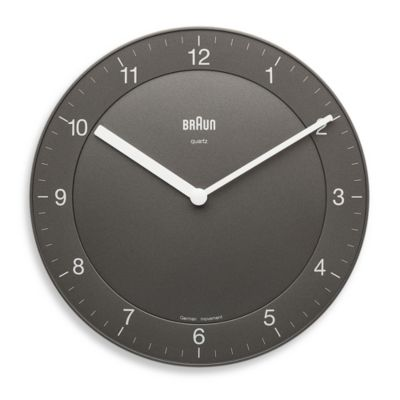 Braun Wall Clocks