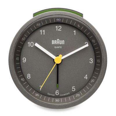 Braun® Alarm Clock in Grey