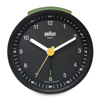 Braun® Alarm Clock in Black