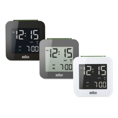 Travel Alarm Clock LCD