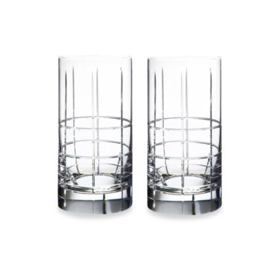 Orrefors Street 15-Ounce Tumbler Glasses (Set of Two)
