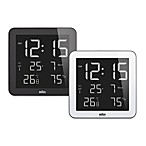 Braun® Digital Wall/Desk Clock
