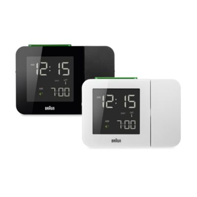 Braun® Digital Projection Alarm Clock